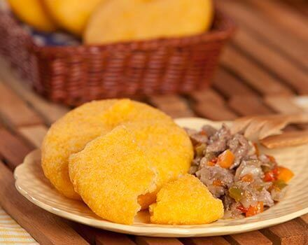 Plantain and Corn Tortillas