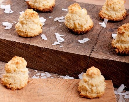 Corn and Coconut Bites
