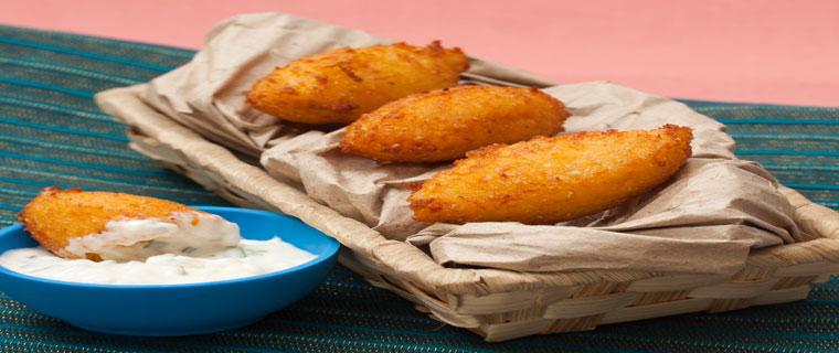 Corn Croquettes