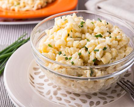 Cornmeal Spaetzle