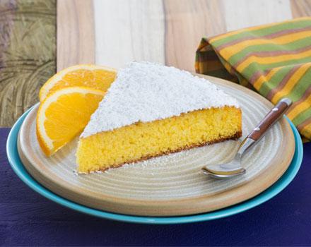 Torta de Naranja y Maíz