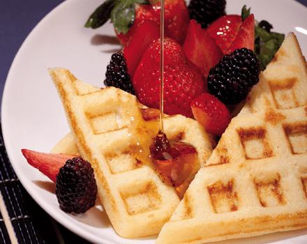 Waffles de Maíz