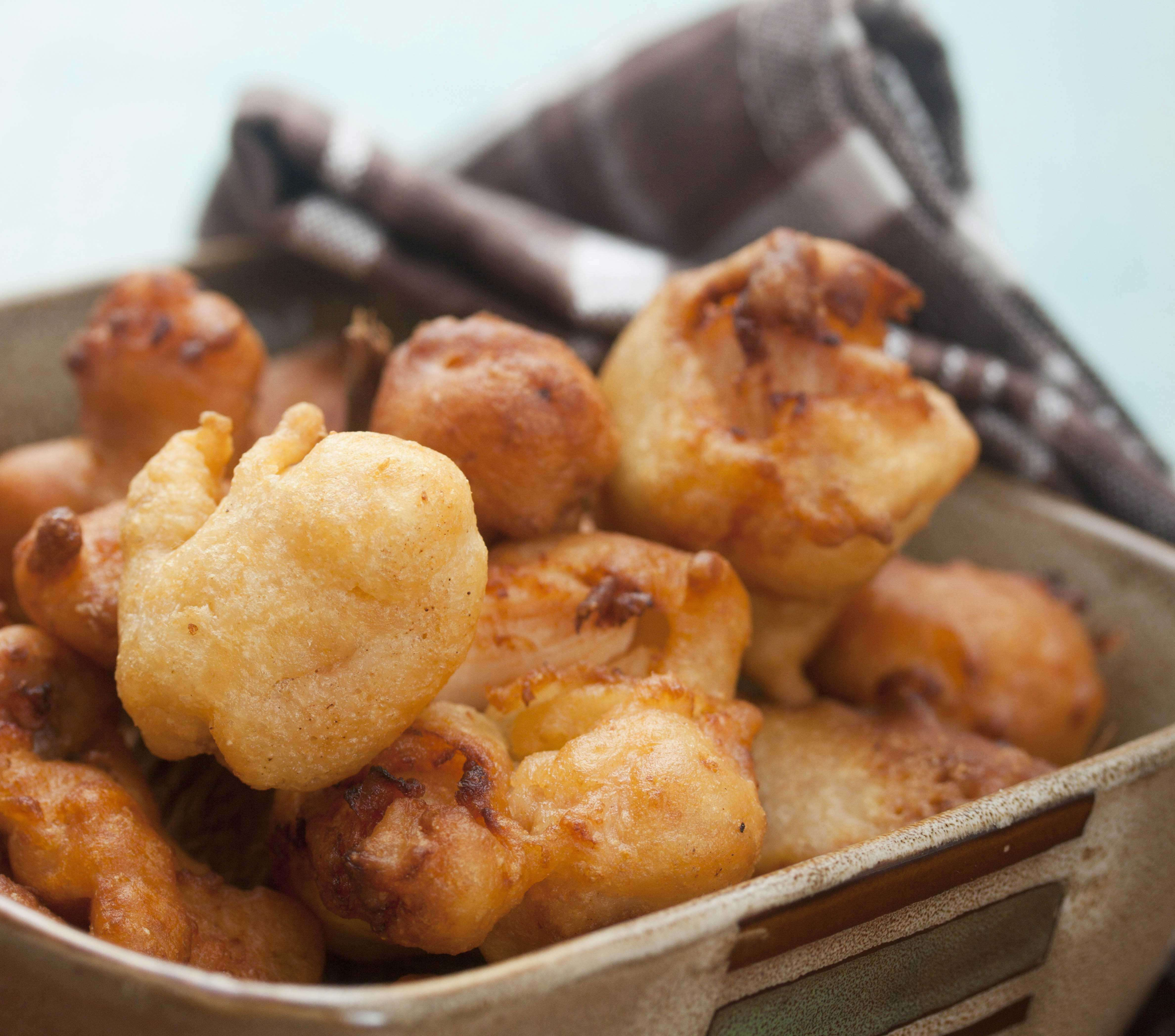 Jamaican Style Conch Fritters