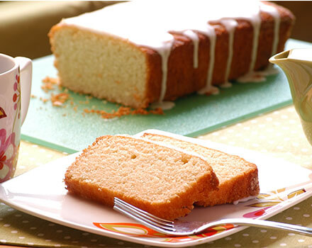 Pound Cake Clásico de Vainilla (Gluten Free)