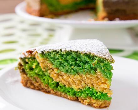 Pound Cake Marmoleado de Maíz