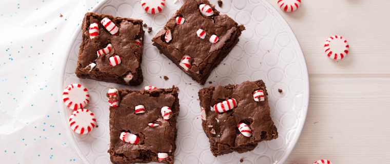 Candy Cane Brownies P.A.N.