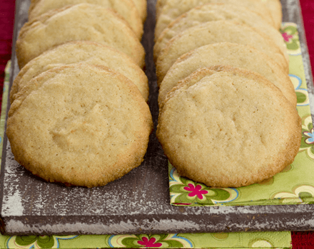 Sweet Cornmeal Cookies